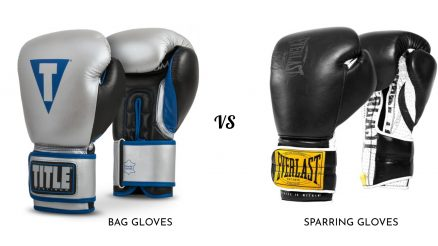 Bag Gloves vs Sparring Gloves