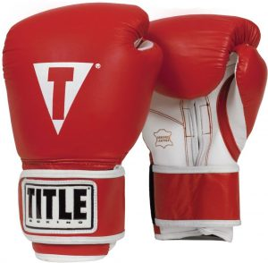 TITLE Boxing Pro Style Leather Training
