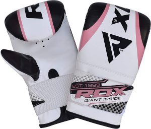 RDX Ladies Boxing Gloves Gel Bag Mitts