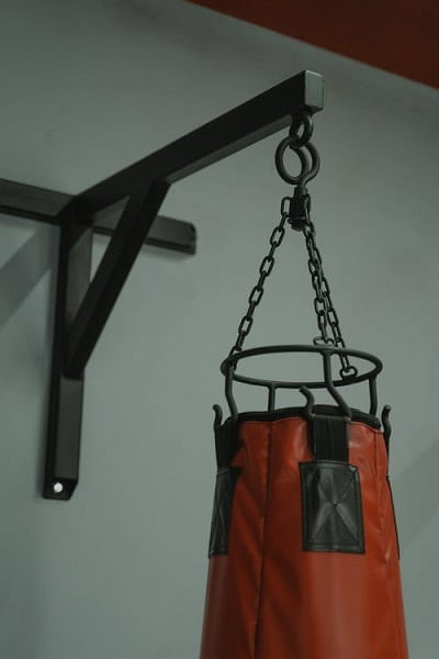 Use A Wall Mount To Hang The Punching Bag On The Side-Wall