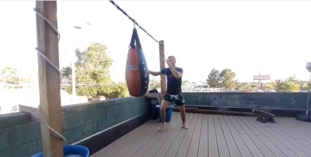 how to choose the right punching bag for your workout: Teardrop Bag